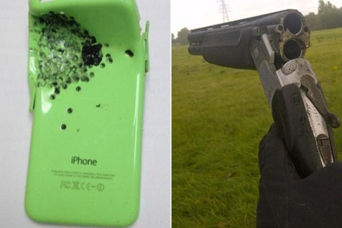 آیفون 5C جان یک نفر را از مرگ حتمی در شلیک شاتگان به قلبش نجات داد + عکس