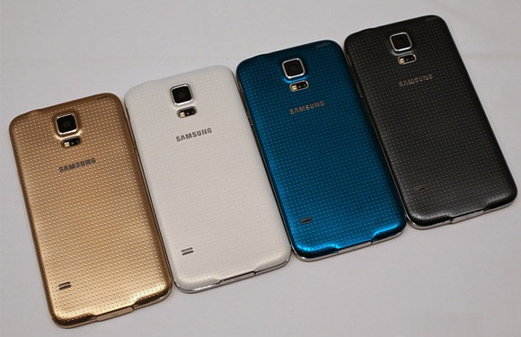 Galaxy-S5-all-colors