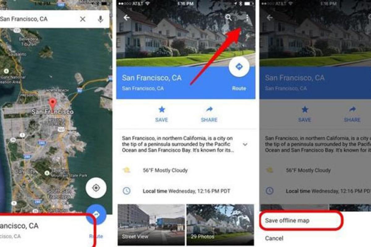 چگونه از نقشه گوگل به صورت آفلاین استفاده کنیم؟