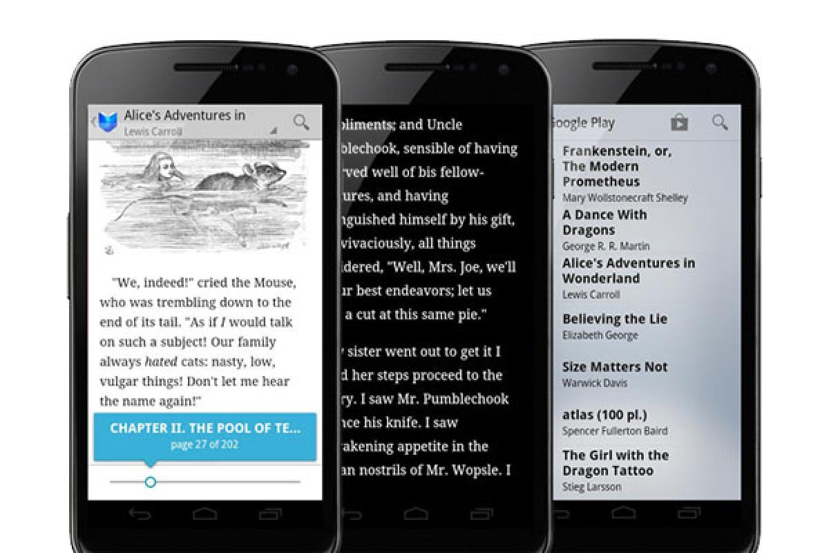 گوگل فونت اپلیکیشن کتاب خوان خود را تغییر میدهد!