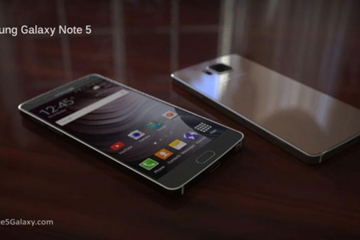 بر اساس تصاویر، گلکسی نوت 5 صفحه نمایشی 4K خواهد داشت!