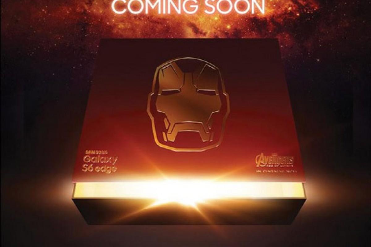 نسخه مخصوص گلکسی S6 اج با نام «مرد آهنی» در راه است!