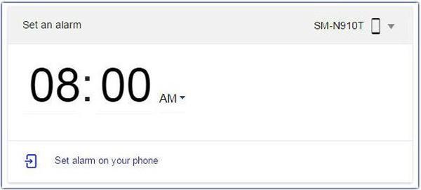 Set-an-alarm