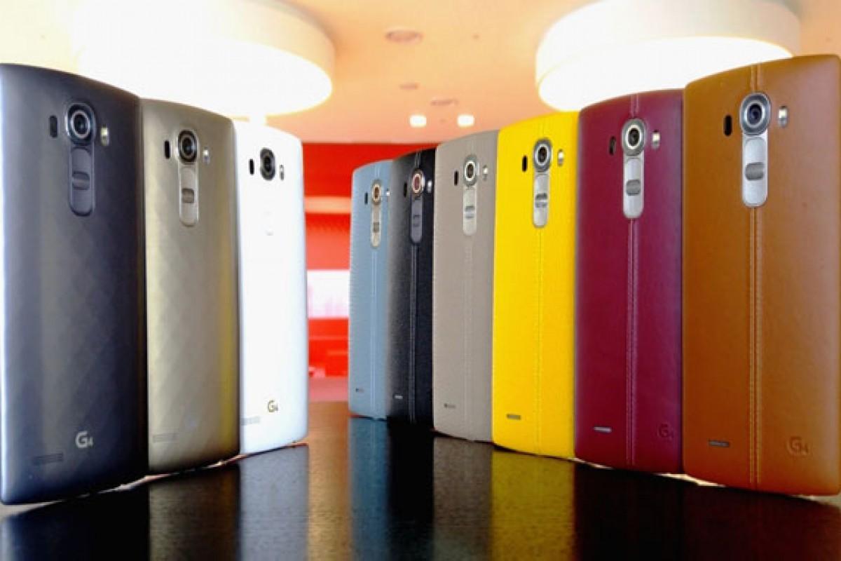 ارسال گوشی الجی G4 به بازارهای سراسر جهان آغاز شد