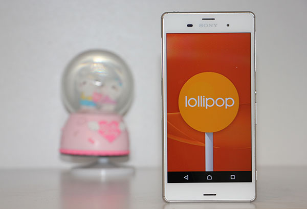 Sony Z3 Lollipop 1