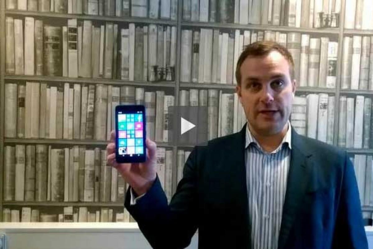 لومیا ۶۴۰ یکی از اولین گوشیهایی است که ویندوز ۱۰ را دریافت خواهد کرد