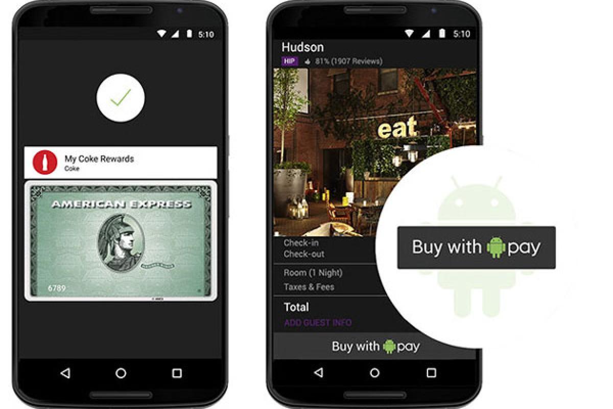 گوگل اندروید Pay را به عنوان سیستم پرداخت خود معرفی کرد!