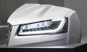 آئودی فناوری جدیدی را به چراغ اتوموبیلهایش میآورد!