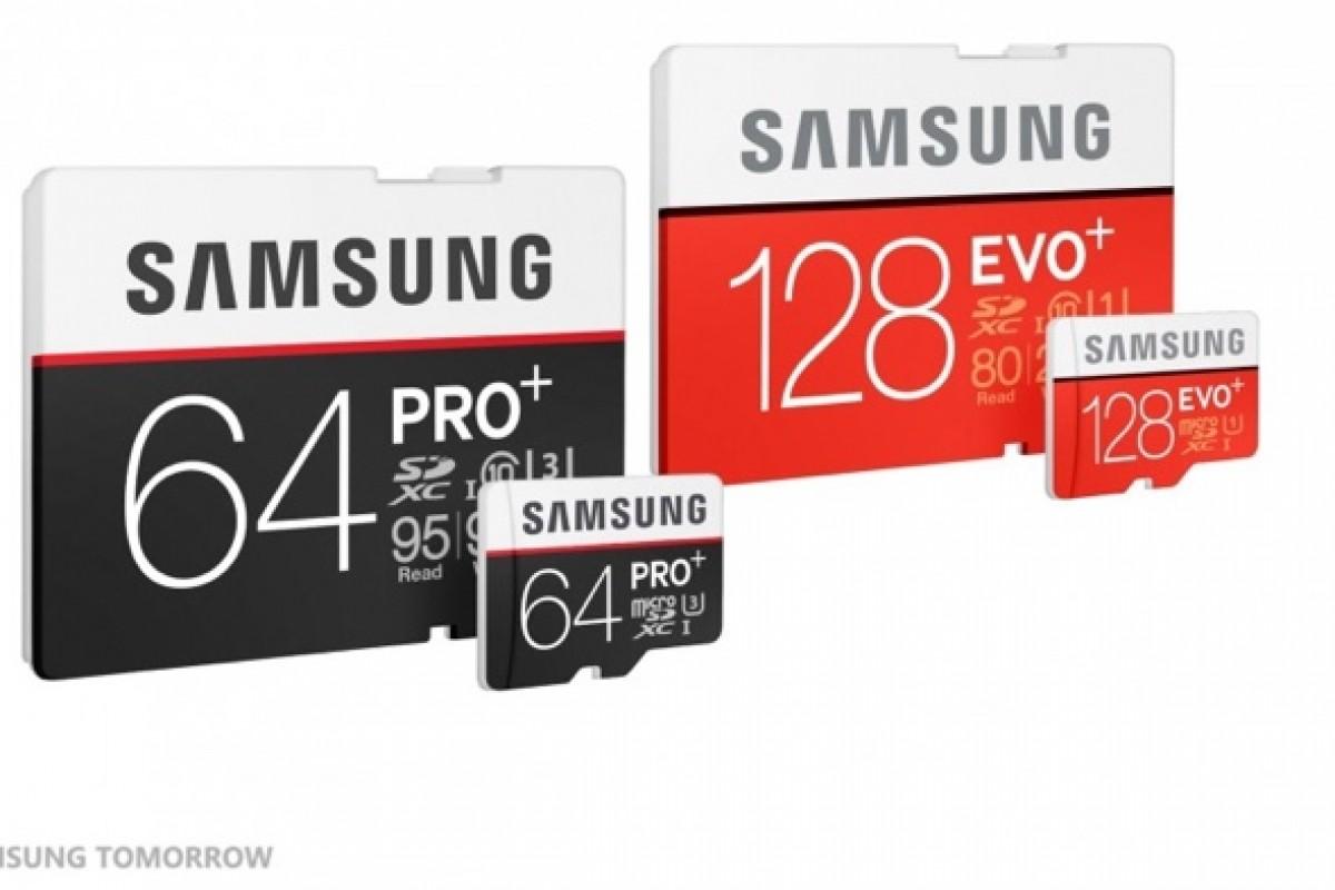 سامسونگ از دو کارت حافظه جدید با نامهای EVO Plus و PRO Plus رونمایی کرد