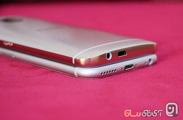 htc m9 vs iphone6 12