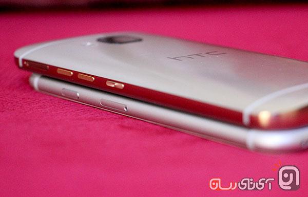 htc m9 vs iphone6 13