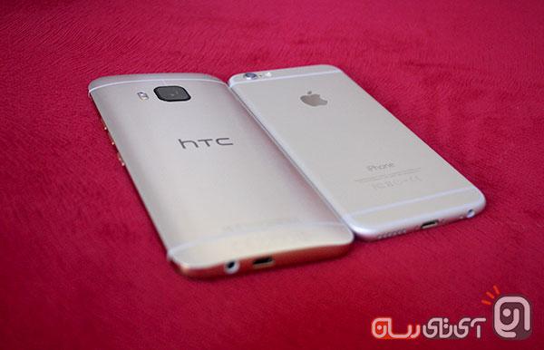 htc m9 vs iphone6 14