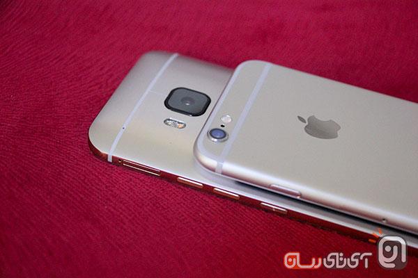 htc m9 vs iphone6 15