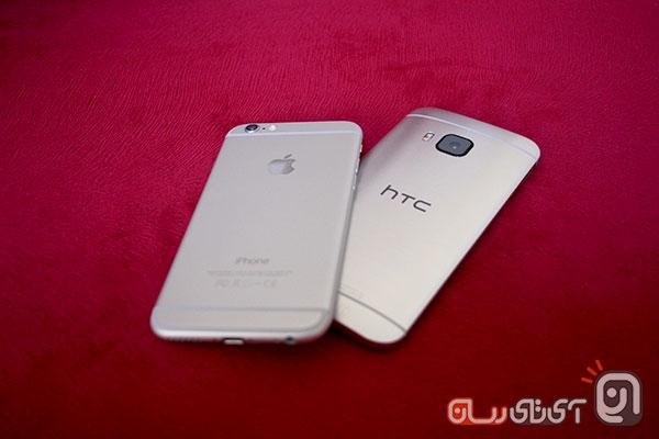 htc m9 vs iphone6 18