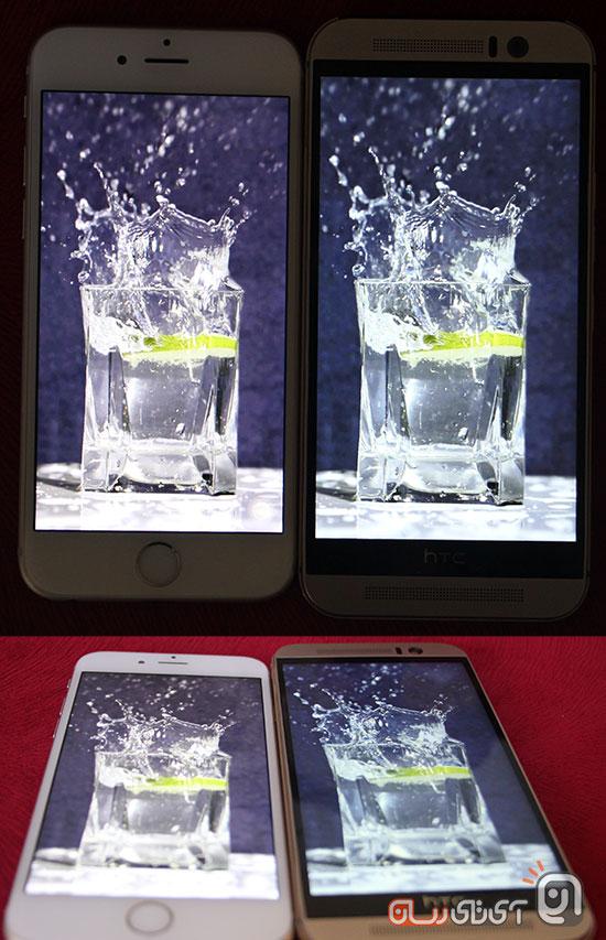 htc m9 vs iphone6 21