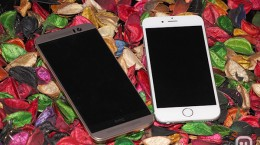 htc m9 vs iphone6 23