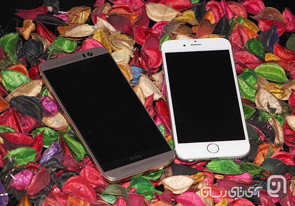 htc m9 vs iphone6 23