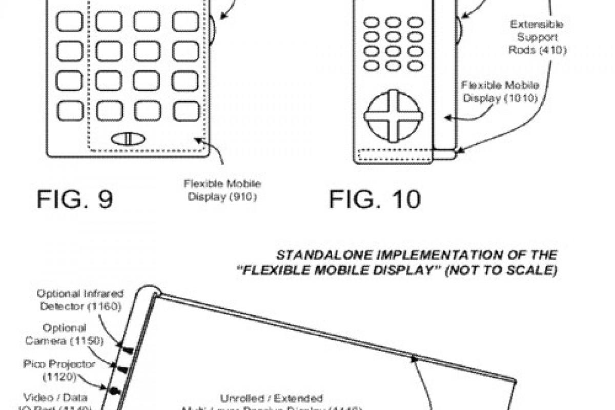 مایکروسافت پتنت جدیدی را برای صفحه نمایشهای خمیده ثبت کرد!