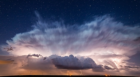 Julesburg Starry Night