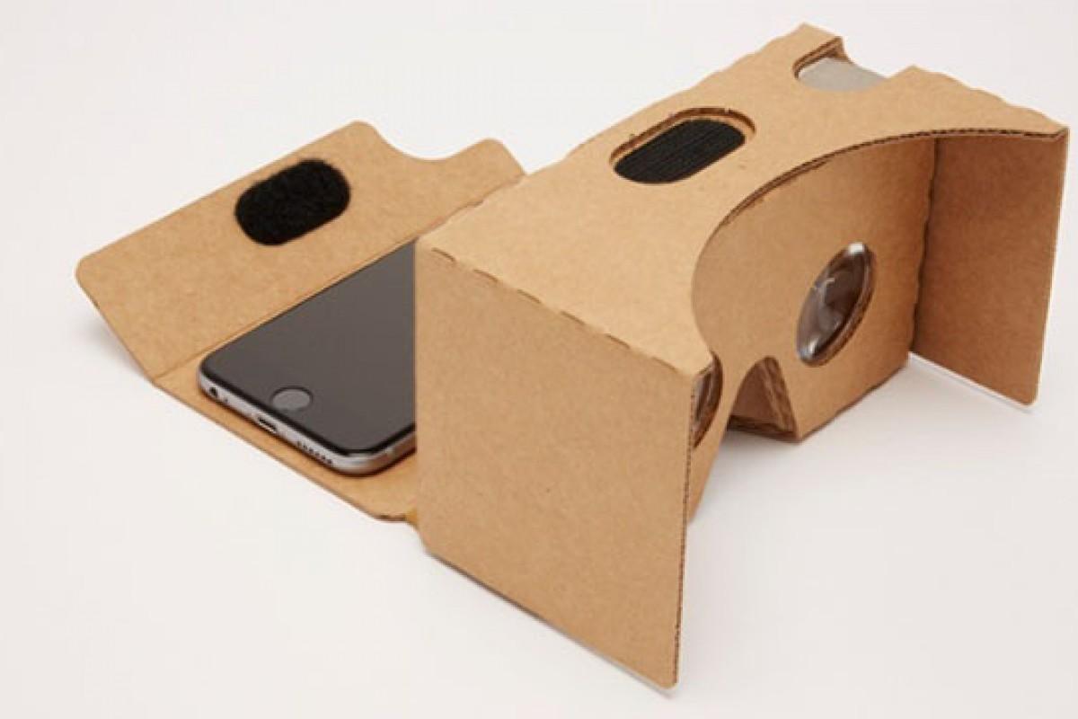 به کمک گوگل هدست واقعیت مجازی خود را بسازید!