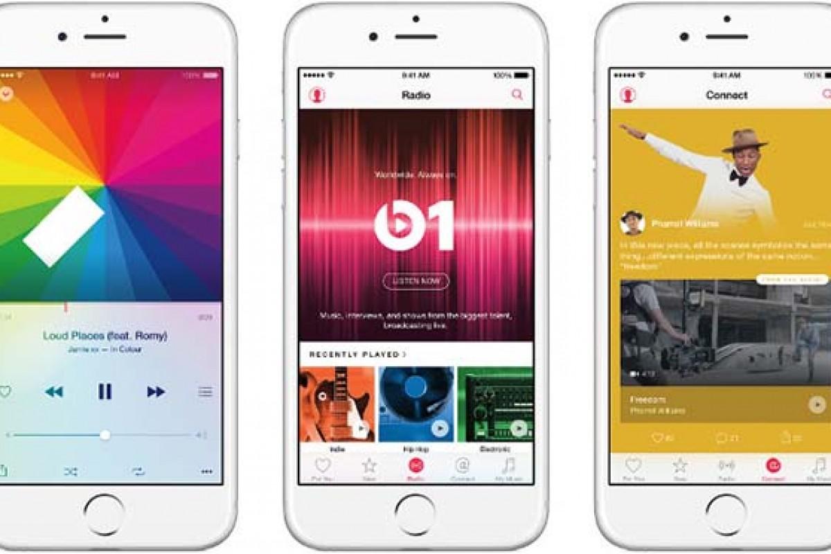 سرویس پخش موزیک اپل بالاخره رسمی شد!