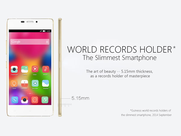 Gionee-Elife-S5.1-became-the-thinnest-smartphone-for-a-while