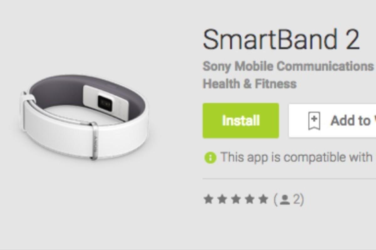 مشخصات دستبند SmartBand 2 سونی منتشر شد