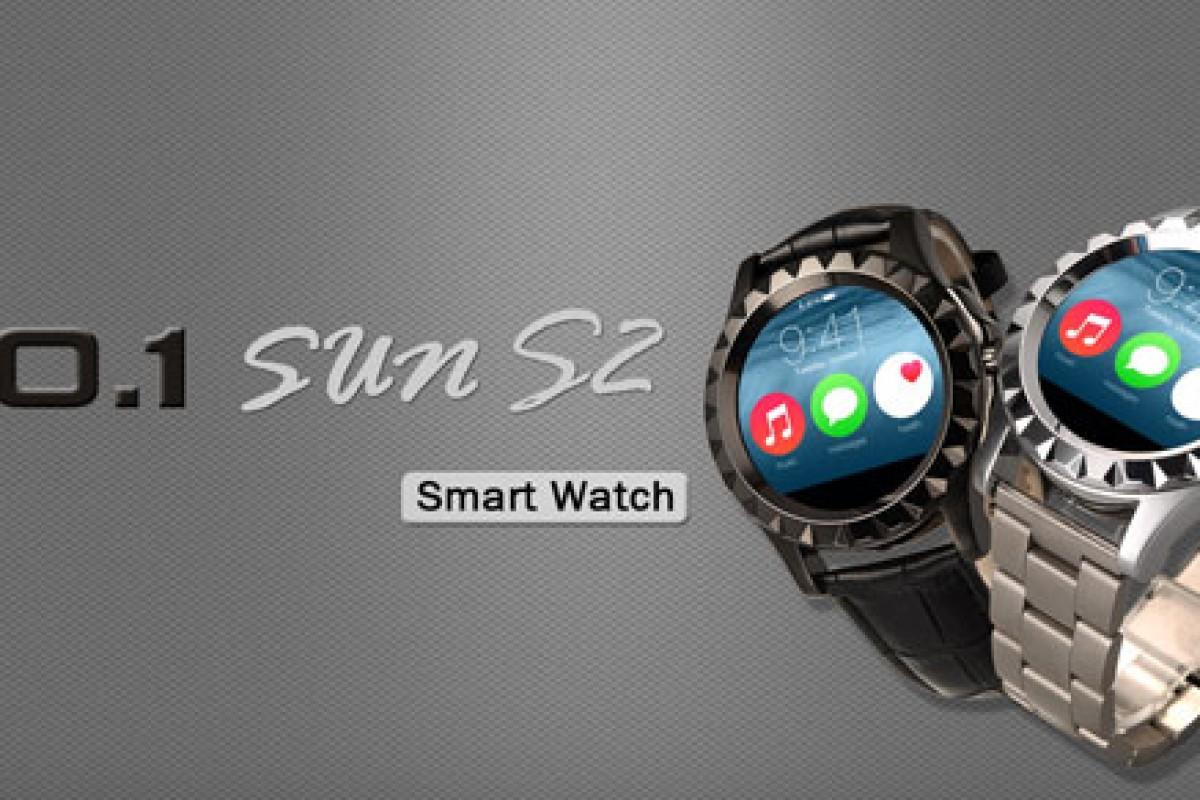 ساعت هوشمند NO.1 Sun S2: محصولی زیبا با بهایی اندک