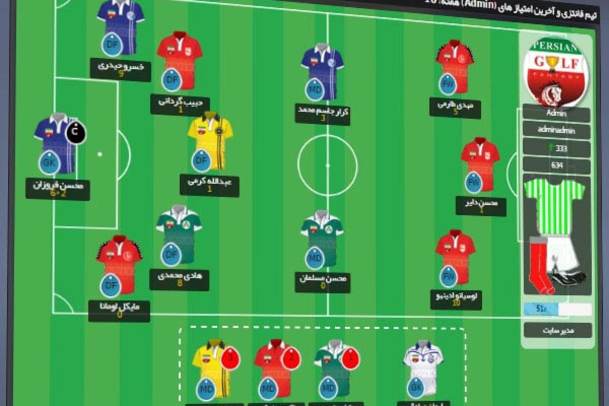 اپرسان: فوتبال فانتزی، یک بازی ایرانی و سرگرمکننده!