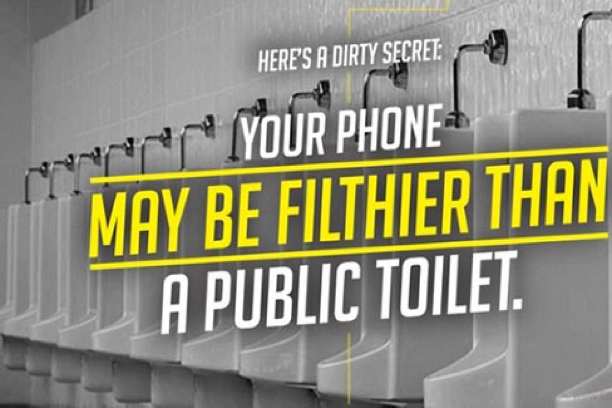 سونی میگوید گوشیها از توالت عمومی هم کثیفتر هستند و باید آنها را شست!