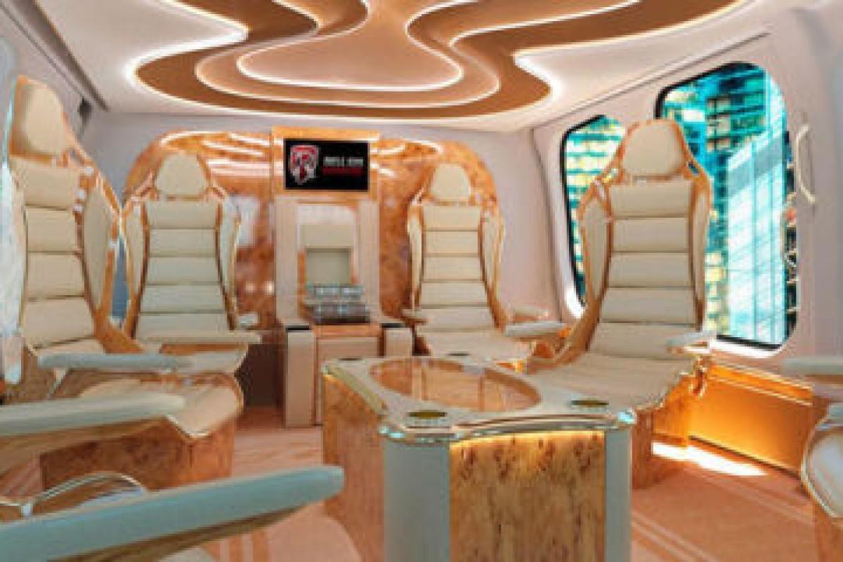 زیباترین کابین طراحی شده برای یک هلیکوپتر را تماشا کنید