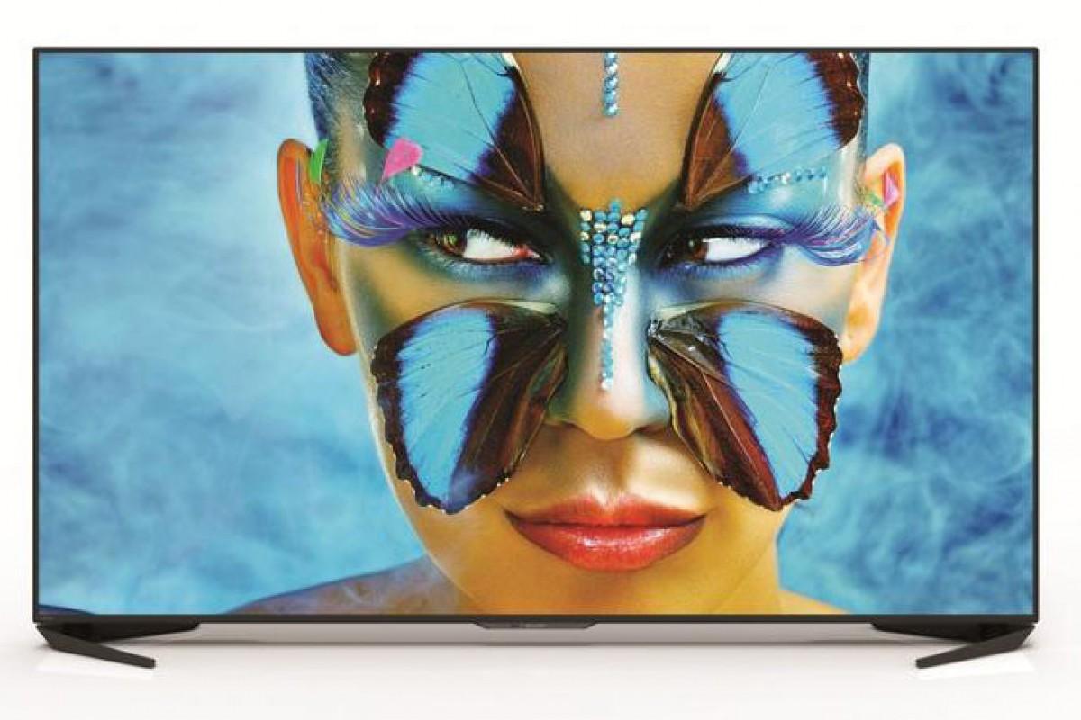 اولین تلویزیون هوشمند اندرویدی شارپ با کیفیت 4K به بازار عرضه شد