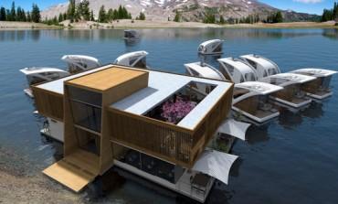 طرح بینظیری از یک هتل شناور که اتاقهایش قایق هستند!