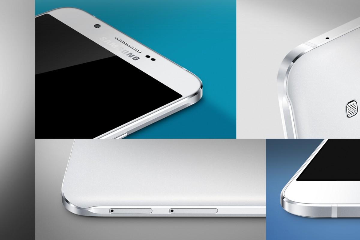 عکسها و اطلاعات بیشتر از گلکسی A8 باریکترین تلفن همراه سامسونگ