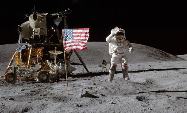 Man on the Moon NASA