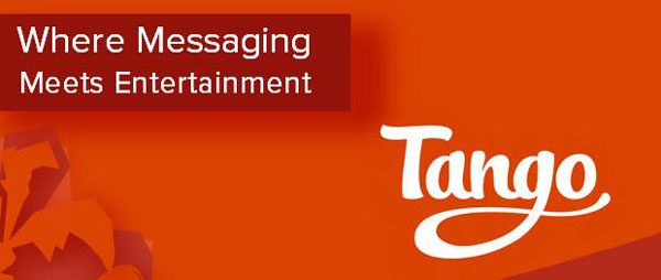شعار تانگو: جایی که پیامرسان با سرگرمی ادغام میشود.