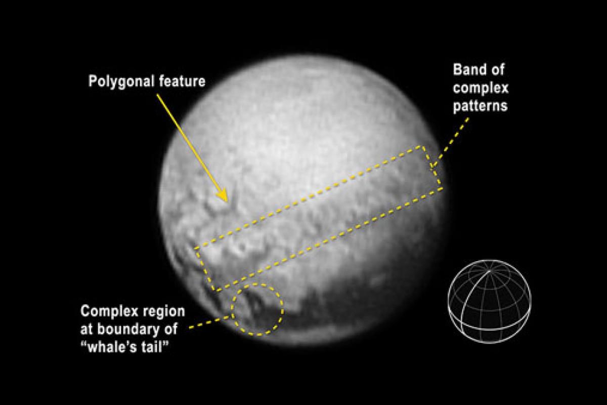 آخرین تصاویر از پلوتو جزئیات بیشتری از ساختار این سیاره را نشان میدهد