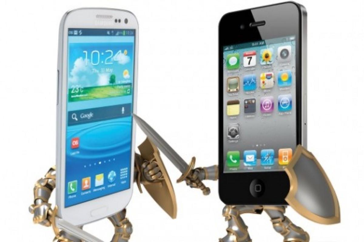 سهم جهانی اسمارتفونهای اپل، به سامسونگ نزدیکتر میشود!