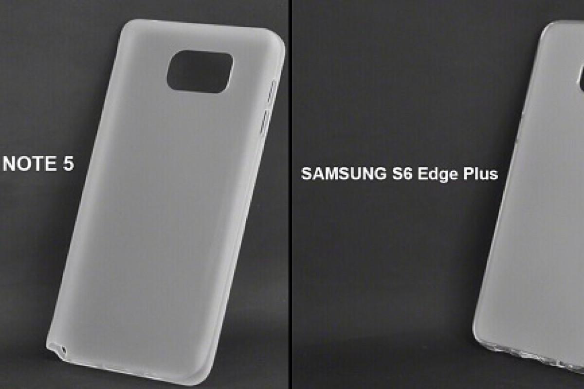 تصاویری از قاب گلکسی نوت ۵ و گلکسی S6 Edge Plus لو رفت!