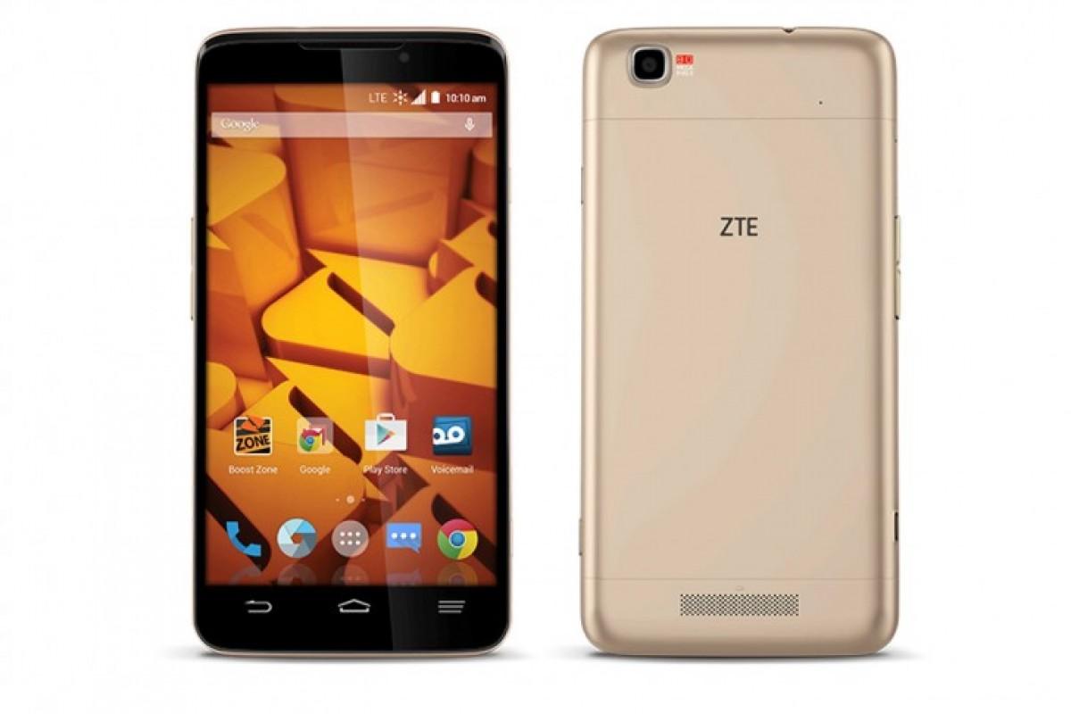 کمپانی ZTE از تلفن هوشمند +Boost MAX رونمایی کرد