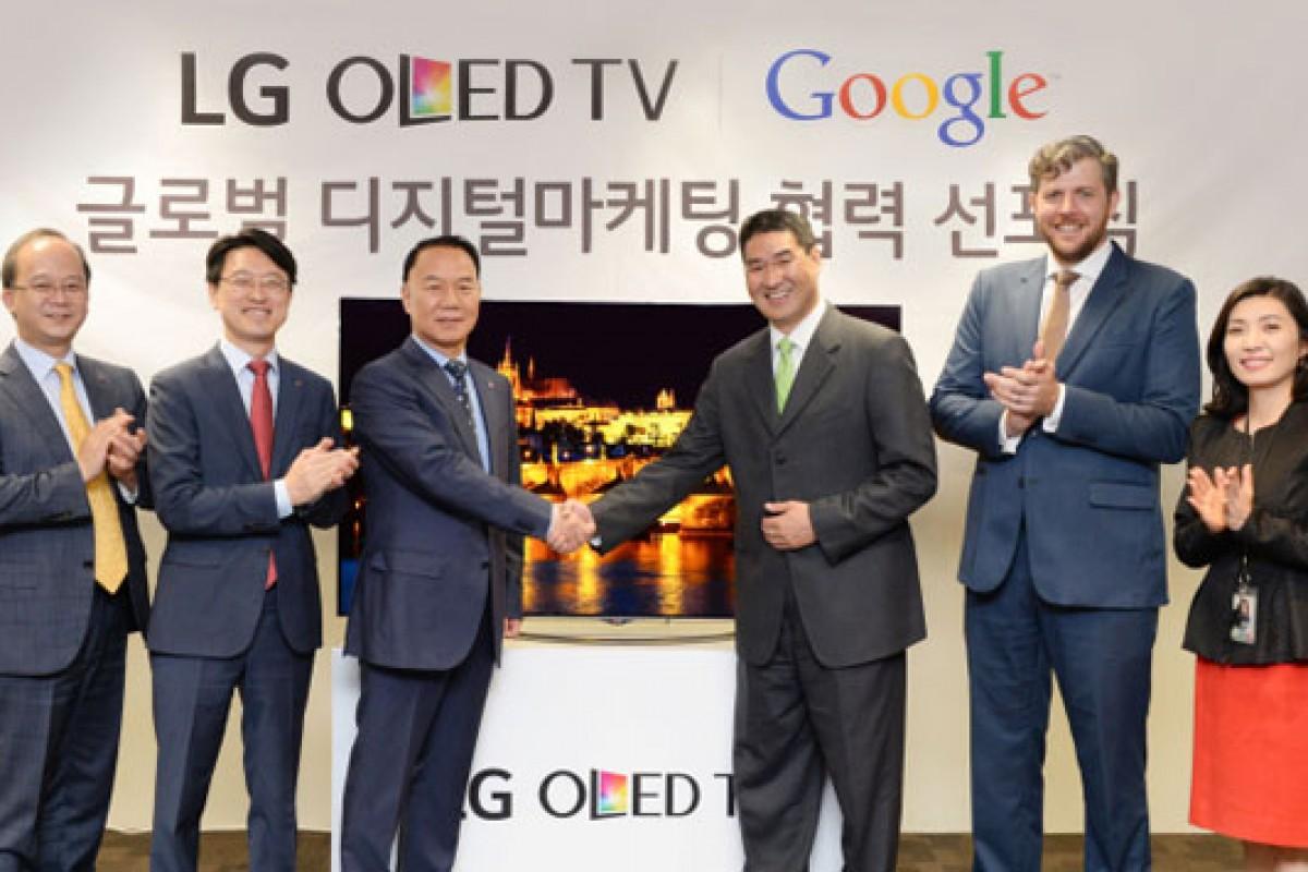 همکاری گوگل و الجی در زمینه تلویزیونهای OLED