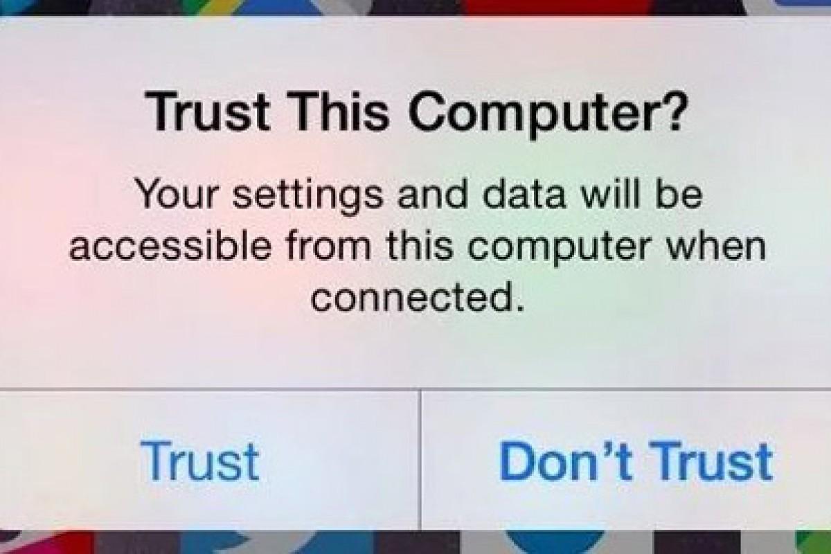 """چرا هنگام اتصال iOS به کامپیوتر با هشدار """"Trust This Computer"""" مواجه میشویم؟!"""
