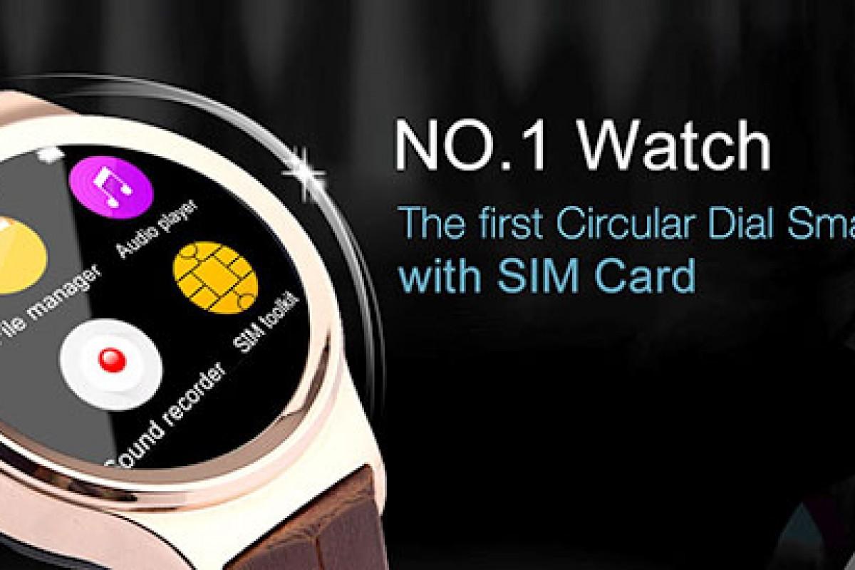 نامبروان واچ: نخستین ساعت هوشمند دنیا با نمایشگر گرد و پشتیبانی از سیمکارت