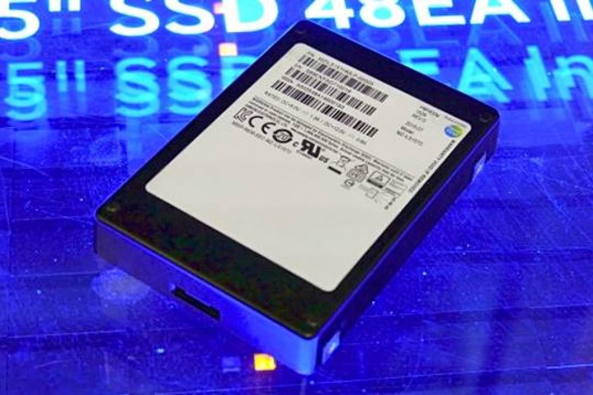 سرانجام، SSD شانزده ترابایتی سامسونگ معرفی شد