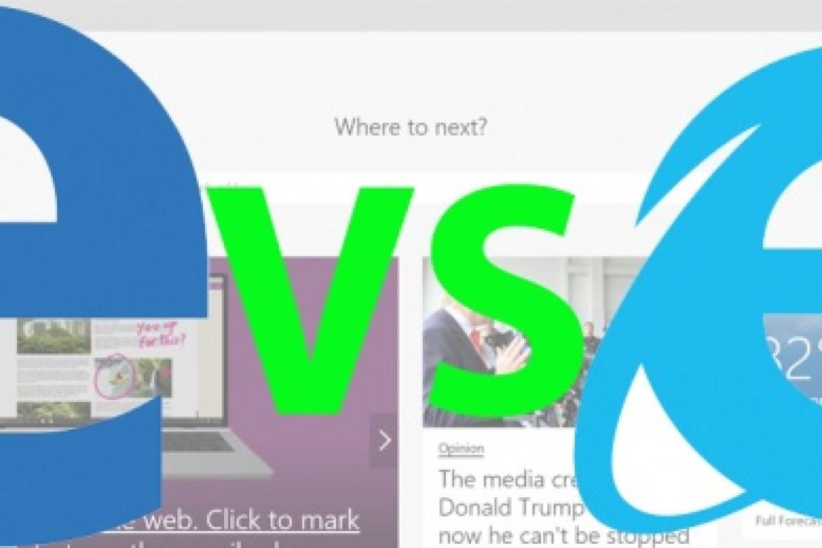 7 تفاوت اینترنت اکسپلورر و مرورگر مایکروسافت اج
