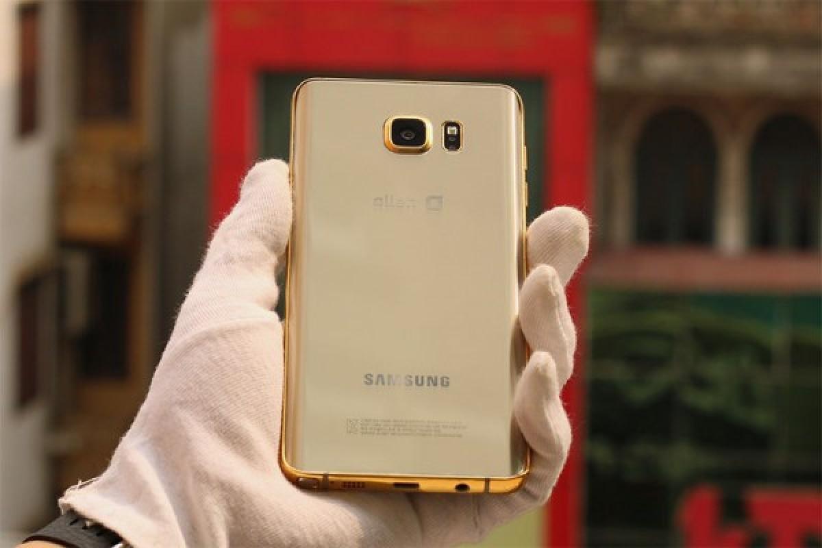 تصاویری از گلکسی Note 5 با پوششی از طلای ۲۴ عیار