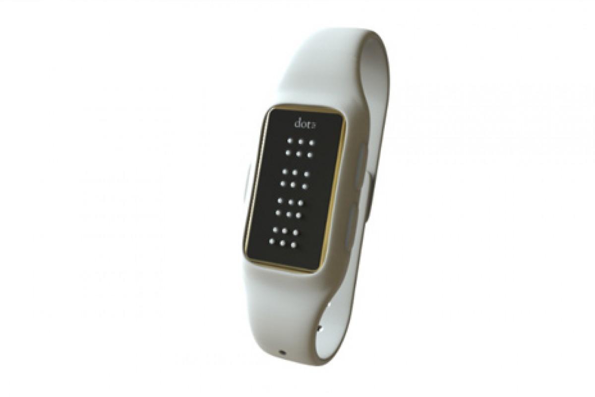 اولین ساعت هوشمند بریل جهان معرفی شد: با Dots آشنا شوید!