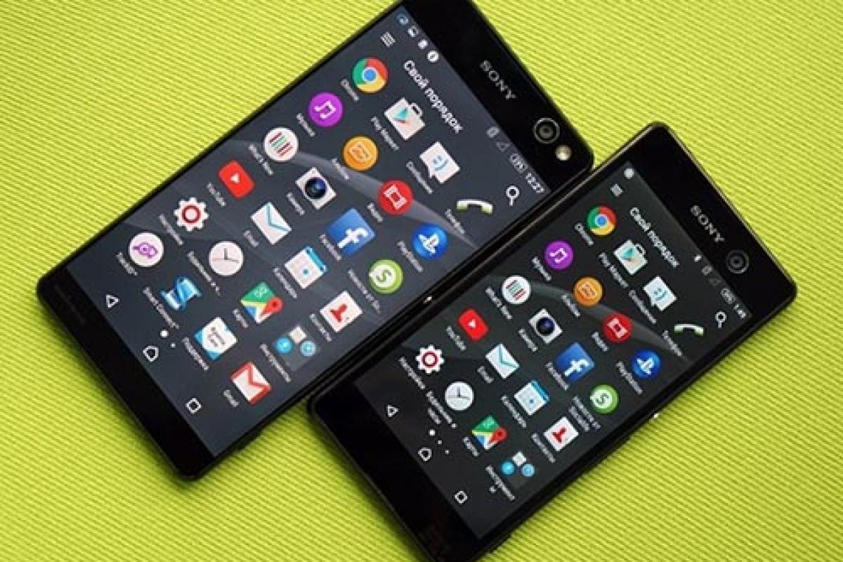 سونی از دو گوشی اکسپریا C5 Ultra و M5 رونمایی کرد