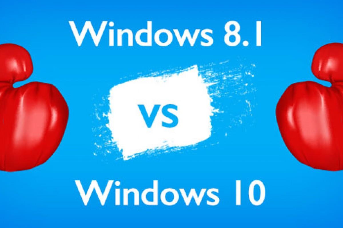 مقایسه ویندوز ۱۰ با ویندوز ۸.۱: کدامیک سریعتر است؟!