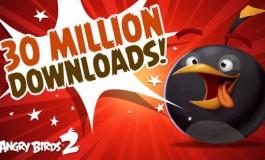 َAngry Birds 2 و ثبت رکورد 30 میلیون دانلود تنها در دو هفته!